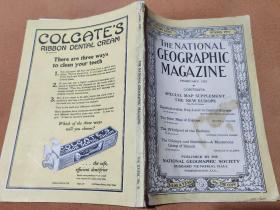 "National Geographic February 1921 国家地理杂志1921年2月 ""欧洲专辑"""