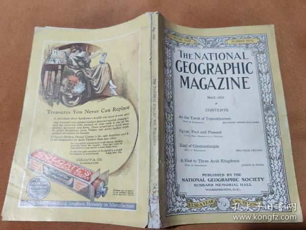 National Geographic May 1923 国家地理杂志1923年5月
