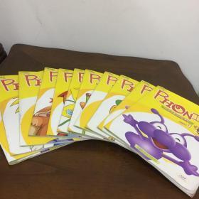 PHONICS波波嘟美语初级课程自然拼读(1-12)册全同售