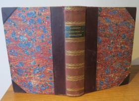 1889年ISAAC DISRAELI - CURIOSITIES OF LITERATURE - 伊萨克•迪斯雷利《文学古玩录》3/4真皮古董书 钢版画插图 增补精美插图 品相绝佳