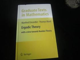 Ergodic Theory: With a View Towards Number Theory (Graduate Texts in Mathematics) 英文原版 遍历理论:以数论为视角(数学研究生课程)