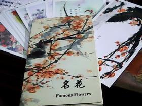 名花 明信片 南京十大名花 1999-9-9邮戳