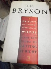 Brysons Dictionary of Troublesome Words 英文原版