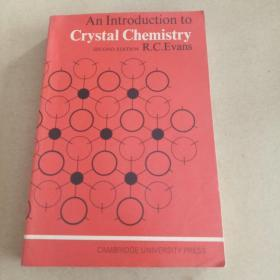 An Introduction to Crystal Chemistry(2nd Edition,英文原版)