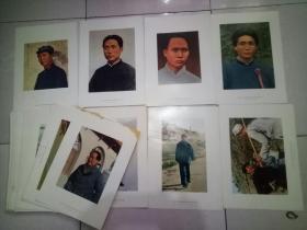 文革海军政治部印刷毛主席宣传画五十张