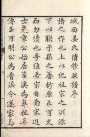 【复印件】遂安城西芮坂姜氏族谱: 十卷,首一卷,末一卷