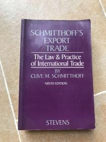 孔网孤本 国际贸易法the law & practice of international trade