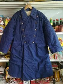 63年3号棉大衣,旧