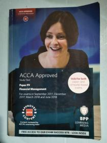 正版 BPP ACCA paper F9 Study Text Financial Management For exams in 2017.9--2018.6 9781509708420