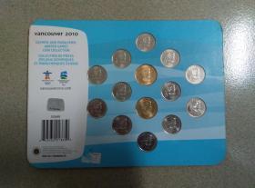 VANCOUVER 2010 纪念币
