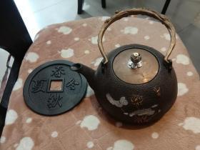 生铁烧水茶壶!!。!!