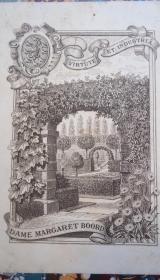 1876年Constitutional History of England –哈莱姆《英国宪政史》全树纹牛皮烫金精装 绝美铜版画藏书票