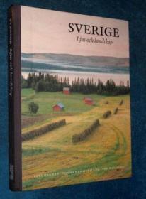 二手画册 SVERIGE Ljus och landskap(瑞典风光)