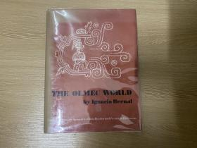 The Olmec World,大16开精装,1969年老版书,重超1公斤