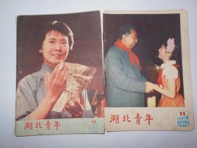 湖北青年1978-11.12两本合售