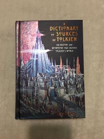托尔金新版铜版纸字典david day作品A dictionary of sources of tolkien david day