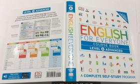 English for Everyone Course Book Level 4 Advanced  进阶英语四级课程  英文原版精装 288页