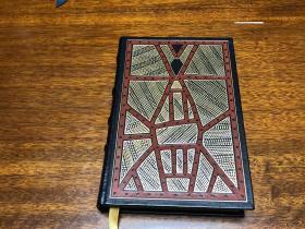 The Songlines 歌之版图    真皮精装收藏版,作者亲笔签名   书口三面刷金,能保存数百年的存档级别的无酸纸