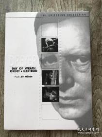 丹麦电影大师 卡尔德莱耶 德莱叶 DVD9 四碟 愤怒的日子+诺言+盖特尔德+导演纪录片 复制碟