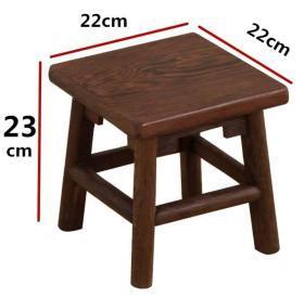 大型鸡翅木木雕凳子直径25厘米高23厘米