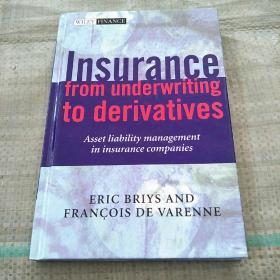 Insurance from underwriting to derivatives(从承保到衍生产品的保险)精装库存