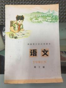 湖南省小学试用课本语文 第十册