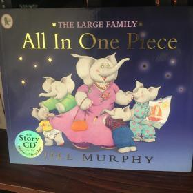 Large Family: All In One Piece (book+CD) 大象一家:爸爸妈妈要出门(书+CD)