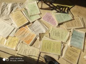 八九十年代的历史教学挂图,初中历史教学参考资料,挂图50套