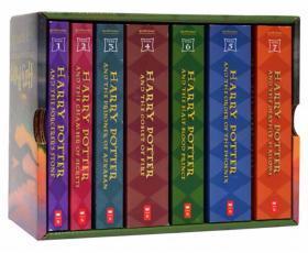 哈利波特全集英文版原版小说 Harry Potter 1-7册全套 全英文版套装 国外经典原著小说 哈利波特与魔法石 美国版 JK罗琳 周边