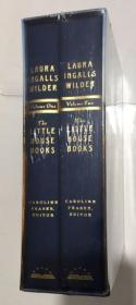 The Little House Books: The Library of America Collection  小房子书:美国图书馆收藏 精装带函套2册  未拆封