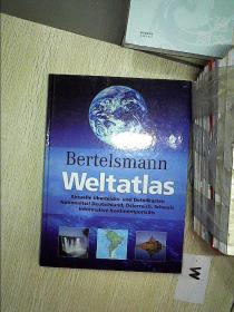 Bertelsmann weltatlas 贝塔斯曼世界地图集