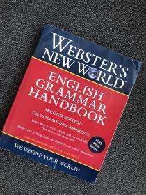 现货  Websters New World English Grammar Handbook, Second Edition