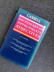 现货  The Cassell Dictionary of Appropriate Adjectives