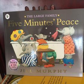 Large Family: Five Minutes' Peace (book+CD) 大象一家:让我安静五分钟(书+CD)