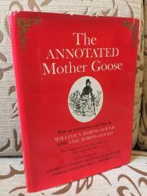 The Annotated Mother Goose -- 《鹅妈妈童谣》详注完整版 超大开本,插图丰富Arthur Rackham,Walter Crane, Randolph Caldecott等大师的插图