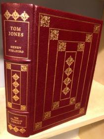 【包顺丰】The History of Tom Jones,《弃儿汤姆琼斯史》,Henry Fielding / 菲尔丁(著),富兰克林图书馆 The Worlds Best-Loved Books / 世上人们最喜爱的100本经典丛书之一,1978年 A Limited Edition / 限量版(请见实物照片第2、3张),豪华全真皮封面,纸张3面刷金,珍贵外国文学资料!