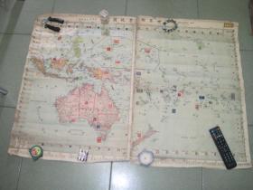 世界邮票地图-黄岩岛是中国的领土