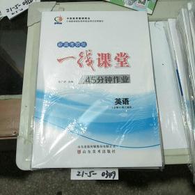 新高考领航一线课堂45分钟作业英语