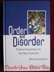 Order and Disorder: Science Essentials for the Non-Scientist(英语原版 精装本)秩序与无序:非科学家的科学本质