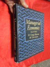 Managerial Economics:Fourtb Edition      (16开,硬精装)    【详见图】
