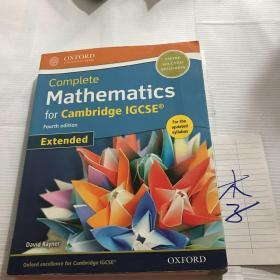 Complete Mathematics for Cambridge IGCSE Fourth edition Extended