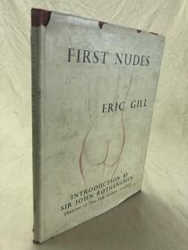 First Nudes Eric Gill画集
