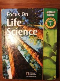 Focus on Life Science: Grade 7 聚焦生命科学:7年级教材 美国中学原版英文教材