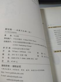 收藏马未都1:醉文明,【内页干净无字迹】
