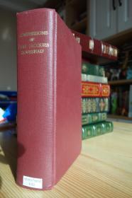 1923年版卢梭的忏悔录 The Confessions of Jean Jacques Rousseau