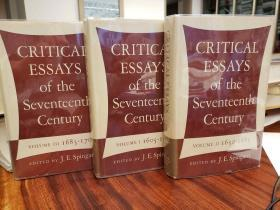 Critical Essays of the Seventeenth Century