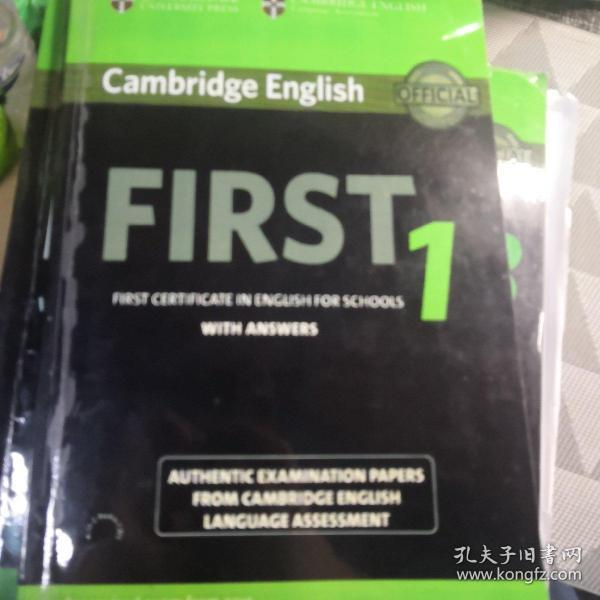 FCE校园版Cambridge English First For School 1