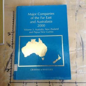 Major Companies of the Far East and Australasia 2000.Volume 3