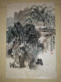 杨健侯山水画