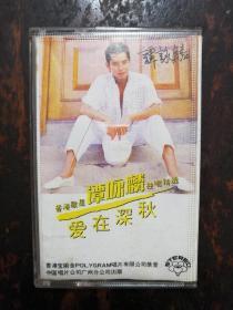 952磁带:谭咏麟 独唱精选爱在深秋